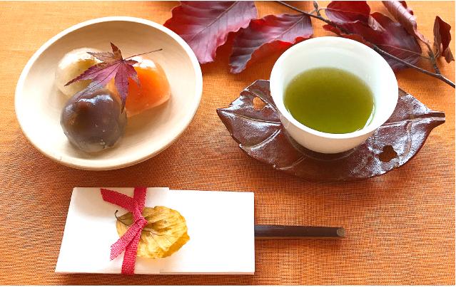 秋イメージ 煎茶バナー
