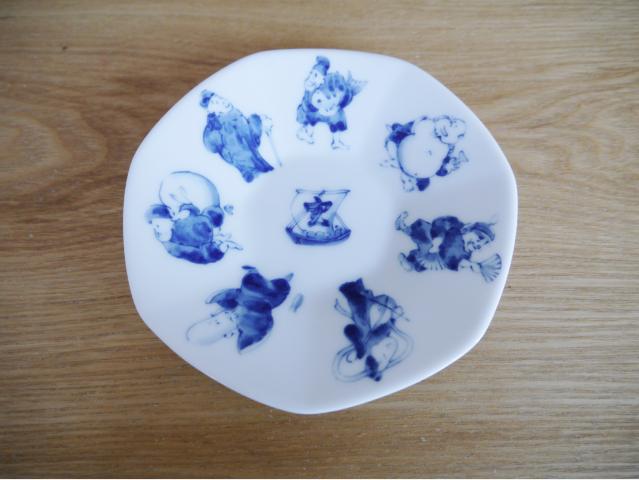 茶器 七福 湯呑 菓子皿 ソーサー茶托