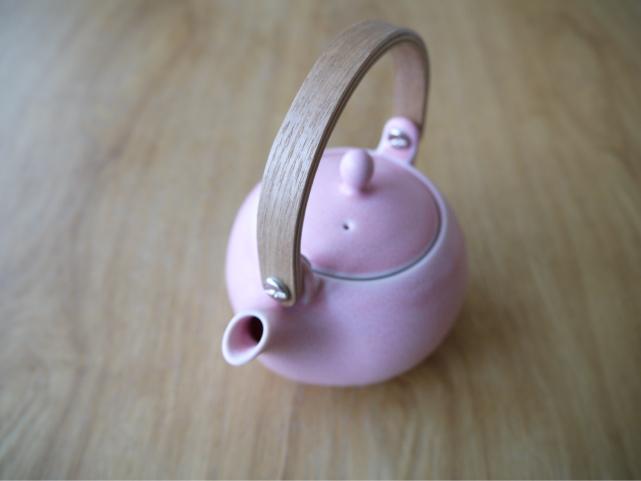 美濃焼 土瓶急須ピンク かわいい急須