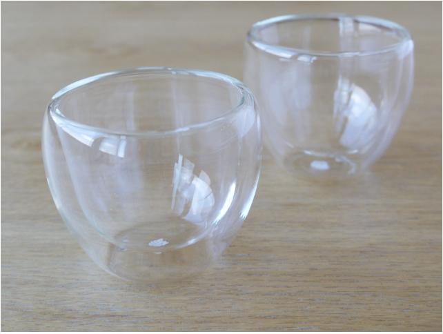 耐熱ガラス ゆのみ ガラス煎茶碗
