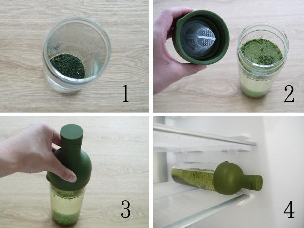 フィルターインボトル 作り方