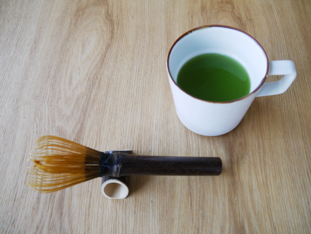 抹茶セット 茶筅おき
