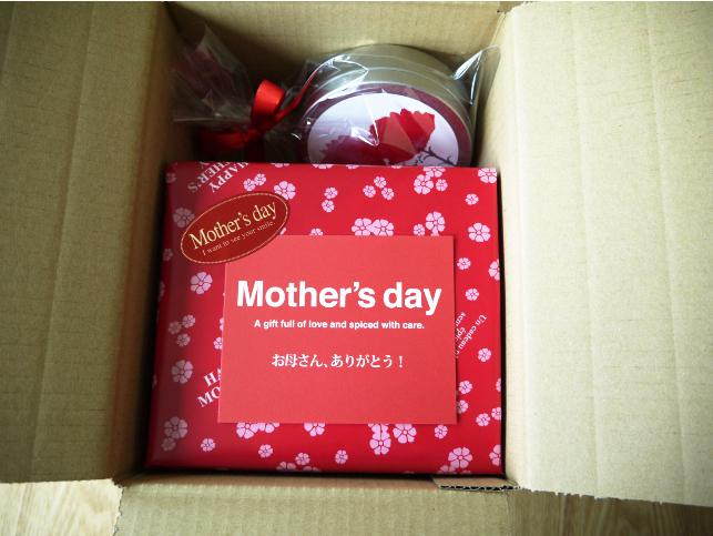 母の日 梱包