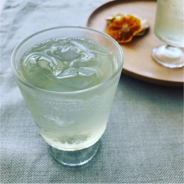 白桃 ソーダ