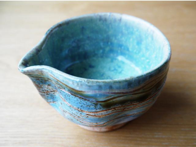 益子焼 湯冷まし かわいい茶器