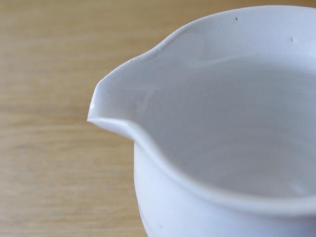 茶器 常滑焼 急須 湯冷まし 白  ピッチャー