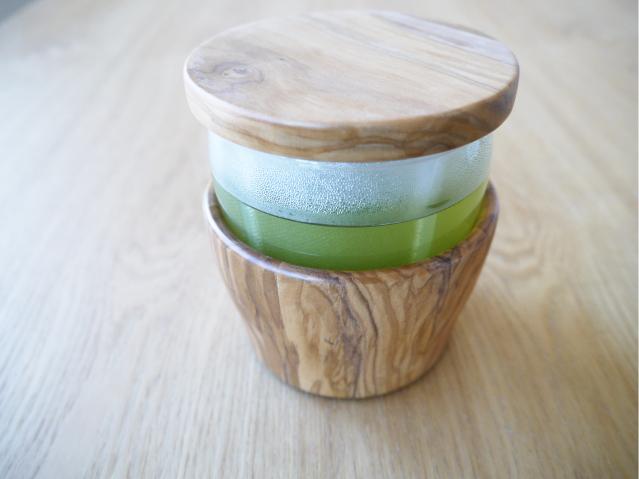 ウッドマグ 緑茶