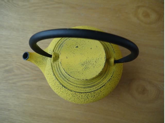 鉄瓶 黄色