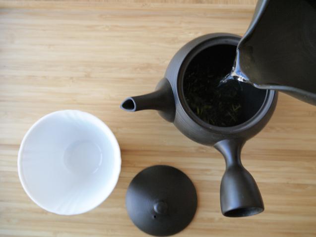 八女 茎茶 上白折 お茶の入れ方